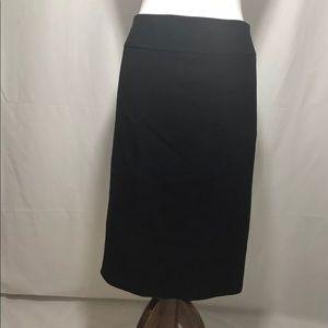 BCBG Max Azria Career Pencil Skirt with Back Slit